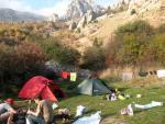Лагерь на Чигенитре