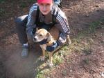 Дима и собака