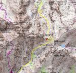 Carte du Col du Vallon / Map