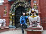 Фото - 39. У входа в храм Таледжу (Басантапур)