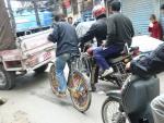 Фото ?40. Сумаcшедший траффик Катманду.