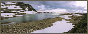Каскад ледниковых озёр Рамнабергватнет