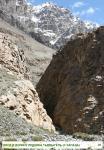 Вход в долину ледника Тырдыгёль (с запада)