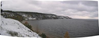 Вид с Зарубинецкого мыса на северо-запад 5-го ноября