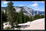 Крайобрази в високогірській частині Yosemite NP
