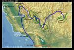Загальна схема маршруту
