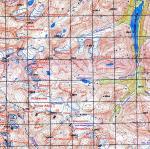 Карта местонахождения перевала