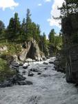 красивое ущелье в месте спуска с пер. Немыцкого З. к реке Кони-Айры
