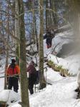 Встреча с лыжниками ничего не дала, так как они тоже заблукали