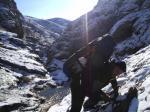 не оборудованный каньон р. Арпат