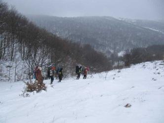 Спуск у долину Су-Ат