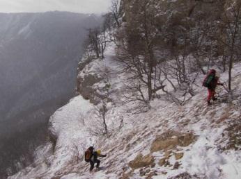Прохід перевалу Тирке Центральний
