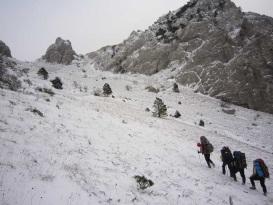 На перевалі Другий спуск