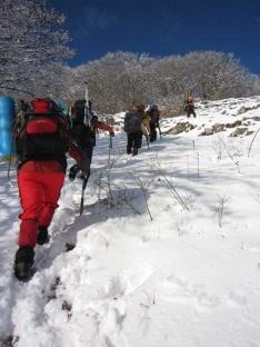 Підйом на перевал Копек