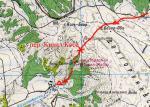 Карта проходження пер. Кизил-Коба