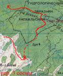 Карта проходження пер. 3 сосни