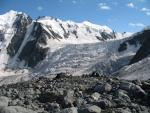 Фото 1. Стоянки над льодовиком Менсу