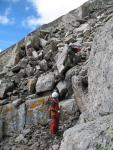 Ділянка R3-R4. Розвідка шляху через скельний пояс