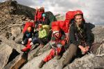 Група на перевалі Карачик