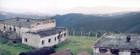 Заброшенная военная часть на отроге г. Стой