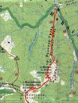 Карта-схема траверсу г. Петрос Мармароський (1А)