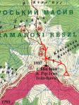 Карта-схема пер. Піп Іван Мармароський (1Б)