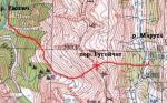 Карта перевала Бугойчат