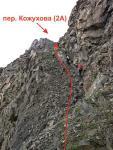 пер. Кожухова (2А, 3400 м)