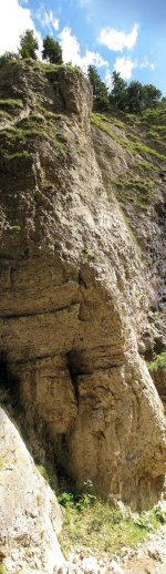 Один из маршрутов (Manitu) каньона Прапаштиле (Prapastiile)