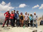 Группа на перевале Алаудинский