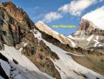 Вид на перевал Чимтарга на подъеме на пер. Казнок Зап.