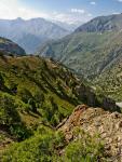 Спуск в долину реки Норват