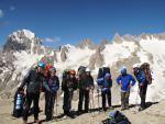 Группа на перевале Четырех