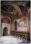 Под сводами церкви в Рильском монастыре