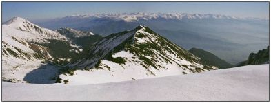Панорама с вершиной Окаден