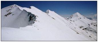 Панорама наивысшей части Пиринского хребта