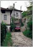 Улочка в Мелнике - самом маленьком городе Болгарии