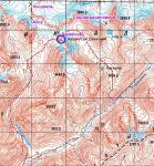Карта перевала Карангсай