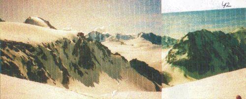 Ледник Гляциологов с Алтынмуза