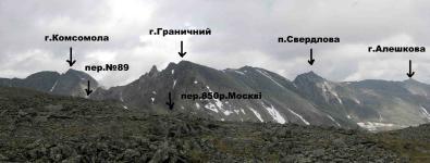 Панорама з східного краю плато Парнук