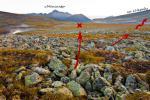 Рис. 03.07 - Путь спуска с плато Руин на р. Народа