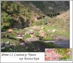 Слияние рек Чугам и Кызыл-Кум