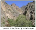 Вход в долину реки Талды-Кель