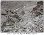 Спуск с перевала Курумды 78 в долину реки Курумды