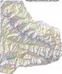 Карта маршрута (схема 1см:1км)