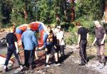 Водники на Алтае, бублик, сплав