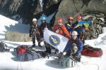 Группа на перевал Туманный С.2А,3300 (в сторону спуска)