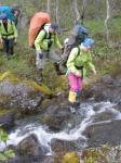 Отчет о пешеходно-водном походе 5 к.с. по Кольскому полуострову