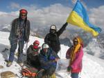 Группа на вершине п.Маяковского