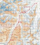 Карта прохождения перевала Кашал-Аяк